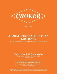 alarm-fire-safety plan-orange