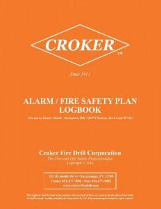 alarm-fire-safety plan-orange